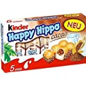 "5-Pack Kinder ""Happy Hippo"" Cocoa Cream Biscuits"