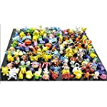 CNFT Pokemon Action Figures, 144-Piec...