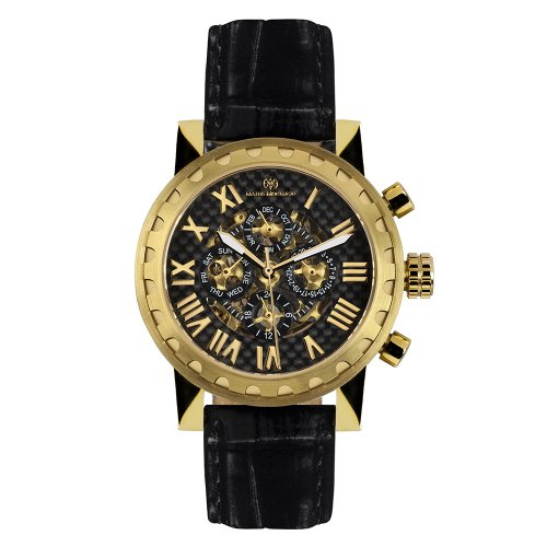 Mathis Montabon Montre Homme Squelette or MM-05