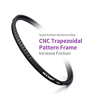 K&F Concept 58mm MC UV Protection Filter Slim Frame with Multi-Resistant Coating for Camera Lens (Tamaño: 58mm)