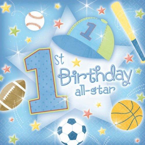 1 Geburtstag Junge