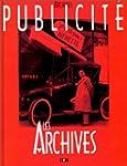 Publicit� : Les archives