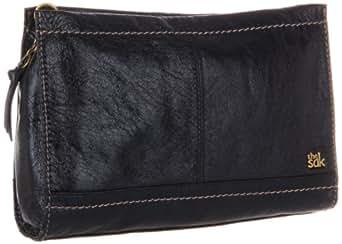 The Sak Iris Demi Clutch Handbag,Black Onyx,One Size