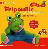 echange, troc Henri Bosse - Fripouille la grenouille et ses amis... : Imagier, autocollants, jeux