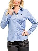 Signore Dei Mari Camisa Mujer Emilia (Azul Claro)