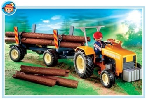 Playmobil Logger'S Tractor