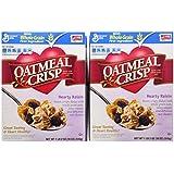 Oatmeal Crisp Cereal, Hearty Raisin, 18-Ounce Box (Pack of 4)