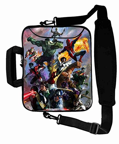 "Protection Customized Series the avengers movie Laptop Bag Suitalbe Boy's (10 Inch) For 9.7""iPad Air 2-iPad 1 2 3 4 5-Samsung Galaxy Tab 3 S T700-Note 10.1-Tab PRO-Google Nexus 10 - CB-10-5631"