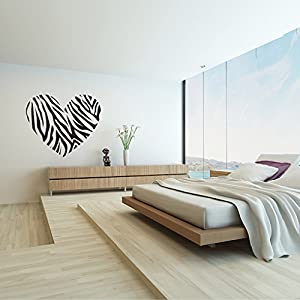 large Love animal leopard home decals vinly wall decal for wall decoration kitchen paper by Colorhome