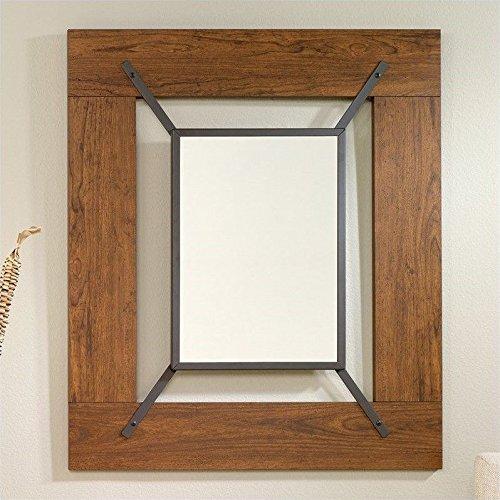 sauder-carson-forge-mirror-in-washington-cherry