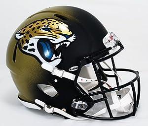 NFL Jacksonville Jaguars Speed Authentic Helmet by Riddell