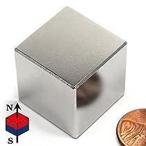 CMS Magnetics 1 Inch Neodymium Rare Earth Cube Magnet