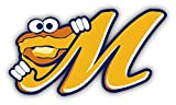 "Montgomery Biscuits MILB Minor Baseball MLB Car Bumper Sticker Decal 5"" x 3"""