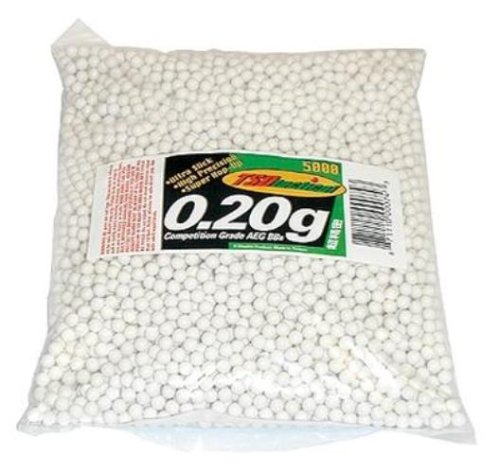TSD Competition Grade 6mm plastic airsoft BBs,