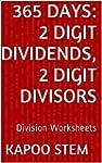 365 Days Math Division Series: 2 Digi...