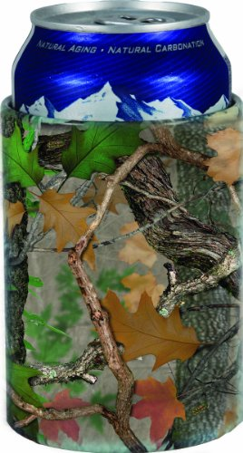 River'S Edge Fall Transition Camo Stainless Steel Can Cooler, Camouflage front-1075821