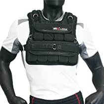 MIR® - 50LBS (SHORT STYLE) ADJUSTABLE WEIGHTED VEST