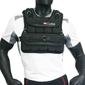 MIR® - 60LBS (SHORT STYLE) ADJUSTABLE WEIGHTED VEST