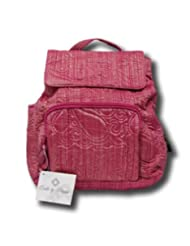 Sharps Donna Sharp Quilts Quilted Raspberry Ice Back Pack Backpack 52791