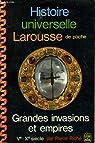 Histoire universelle Larousse de poche (5) : Grandes invasions et empires. Ve-Xe siecle par Riché
