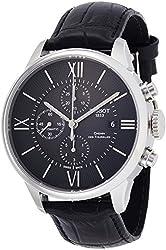 Tissot T-Classic Chemin Des Tourelles Black Dial Chronograph Mens Watch T0994271605800