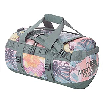 The North Face Base Camp X Small Duffle Bag One Size Ballet Pink Hawaiian Sunrise Print