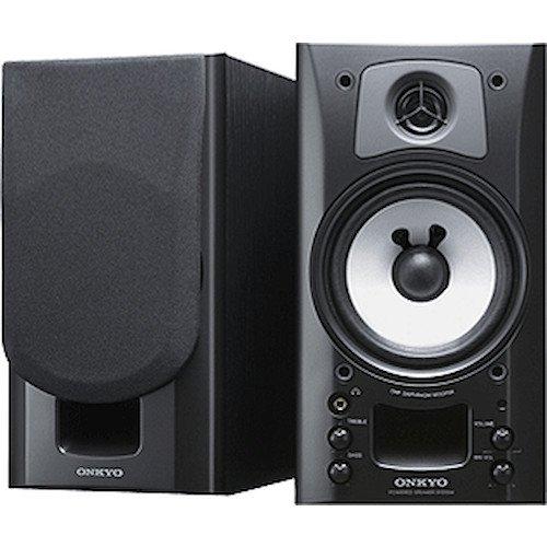 ONKYO WAVIO パワードスピーカーシステム ブラック ブラック GX-70HD2(B)