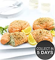 4 Scottish Lochmuir Salmon Parcels