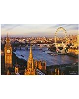 1art1 37980 Poster Londres London Eye Westminster Bridge 91 X 61 cm
