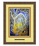 Elegant Arts & Frames Krishna shows the Universal Form Multicolour Print 14 x 19 Photo Frame