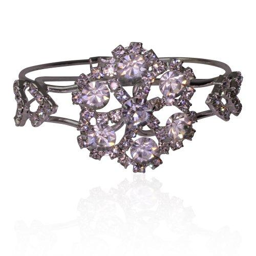 Dazzling Diamante Crystal Bangle Bracelet