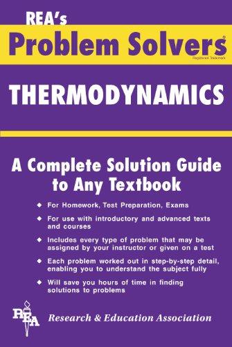Thermodynamics Problem Solver (Problem Solvers)