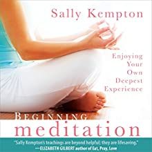 Beginning Meditation: Enjoying Your Own Deepest Experience  by Sally Kempton Narrated by Sally Kempton