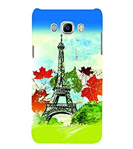 PrintVisa Travel Paris 3D Hard Polycarbonate Designer Back Case Cover for SAMSUNG GALAXY J5 2016 Edition