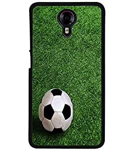 ColourCraft Football Design Back Case Cover for MICROMAX CANVAS XPRESS 2 E313