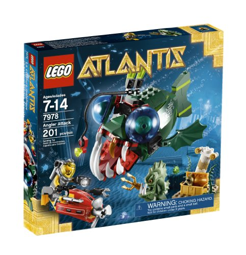 LEGO Atlantis Angler Attack 7978 Amazon.com
