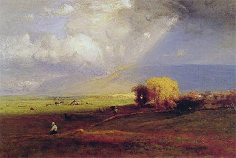Passing Clouds by George Inness, 1876