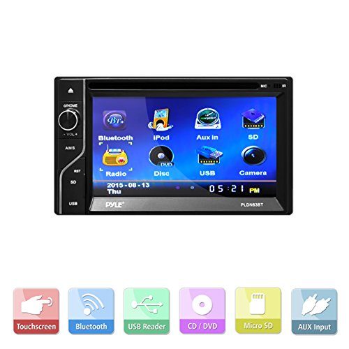 elite screen wiring diagram pyle double din touch screen wiring diagram pyle pldn63bt double din bluetooth touch-screen cd/dvd ...