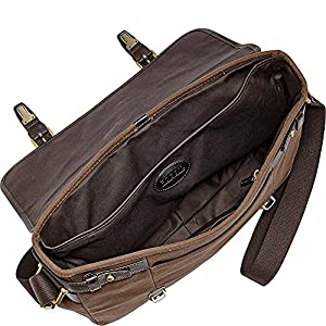 Fossil East-West Messenger Bag from Fossil Men's Accessories
