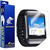 ArmorSuit MilitaryShield - Samsung Galaxy Gear Live Screen Protector Anti-Bubble Ultra HD - Extreme Clarity & Touch Responsive Shield with Lifetime Free Replacements - Retail Packaging