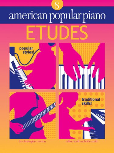 American Popular Piano - Etudes: Etudes Level 8
