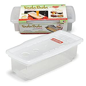 Microwave Pasta Cooker - The Original Fasta Pasta - No Mess, Sticking or Waiting For Boil