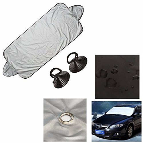 BephaMart Car Heat Sun Shade Windscreen Cover Anti Snow Frost Ice Shield Dust Protector Shipped and Sold by BephaMart