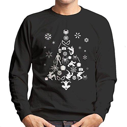 Spiderman Christmas Tree Sweatshirt