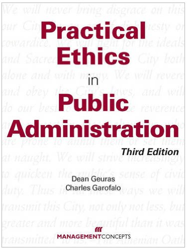 ethics and trustworthiness in the public administration