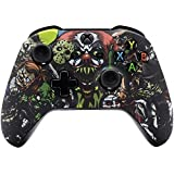 Xbox One Wireless Controller for Microsoft Xbox One - Custom Soft Touch Feel - Custom Xbox One Controller (Scary Party) (Color: Scary Party)