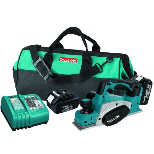 18-Volt LXT Lithium-Ion Cordless 3-1/4 in. Planer Kit (LXPK01)