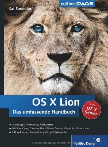 OS X Lion: Das umfassende Handbuch