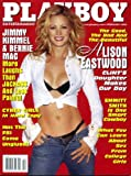 Playboy February 2003 Alison Eastwood/Clint's Daughter on Cover (nude inside), Jimmy Kimmel Interview, Bernie Mac 20 Questions, Jim Shepard Fiction, Emmitt Smith/Dallas Cowboys Profile