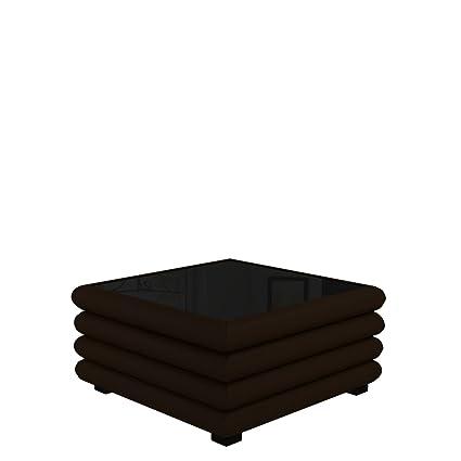 Polster Couchtisch ST-3, Design Kaffeetisch fur Wohnzimmer, Modern Sofatisch 90 x 90 x 47 cm, Tisch (Soft 066)